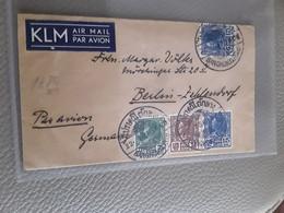 BRIEF VERZONDEN VAN BANGKOK PER LUCHTPOST NAAR GERMANY 1938 SIAM - Thailand