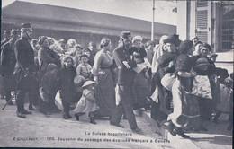 Guerre 14-18, Genève Gare 1915, Passage D' Evacués Français (2846) - War 1914-18