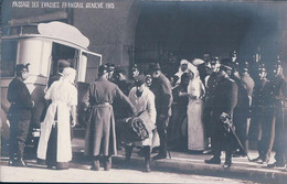 Guerre 14-18, Genève Bus 1915, Croix Rouge, Passage D' Evacués Français (2847) - War 1914-18