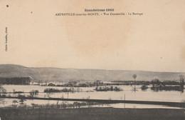 27 - AMFREVILLE SOUS LES MONTS - Inondations 1910 - Vue D' Ensemble - Le Barrage - Autres Communes