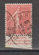 Semeuse Lignée 50c Type 2A  N°199 - Pubblicitari