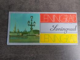 USSR. Leningrad  - Plan Touristique - World