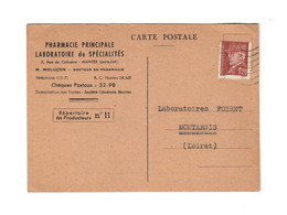 CTH - Pharmacie Principale - Rue Du Calvaire 44 - Nantes - Cor. Commerciale (28/05/1942) - Pubblicitari