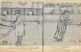 Humour - CPA - Lendemain Noces - Gendre Belle Maman 7 Et 3 - Belle Mère 6 7 Et 3 7 9 - 6 7 9 7 1 10 20 Plaisir - Postal Services