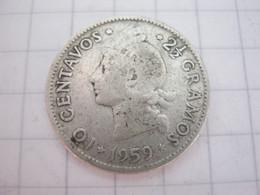 Dominicana 10 Centavos 1959 - Dominicana