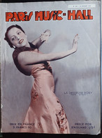 REVUE PARIS MUSIC HALL CURIOSA SEXY FEMMES SEINS NUS PIN UP FEVRIER 1937 - 1900 - 1949