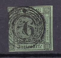 Baden - 1852 - Michel Nr. 3 B N5 - BPP Gepruft - Gestempelt - 60 Euro - Baden