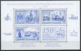 Österreich 2000 WIPA 2000 Blaudruck Block 14 B Postfrisch (C14741) - Blocs & Hojas