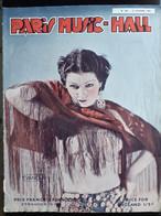 REVUE PARIS MUSIC HALL CURIOSA SEXY FEMMES SEINS NUS PIN UP OCTOBRE 1936 - 1900 - 1949