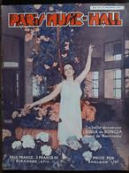 REVUE PARIS MUSIC HALL CURIOSA SEXY FEMMES SEINS NUS PIN UP SEPTEMBRE1936 - 1900 - 1949