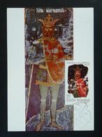 Carte Maximum Card Roi King Mircea Medieval History Roumanie Romania Ref 85774 - Cartes-maximum (CM)