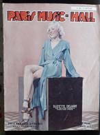REVUE PARIS MUSIC HALL CURIOSA SEXY FEMMES SEINS NUS PIN UP AOUT1936 - 1900 - 1949
