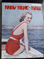 REVUE PARIS MUSIC HALL CURIOSA SEXY FEMMES SEINS NUS PIN UP JUILLET 1936 - 1900 - 1949
