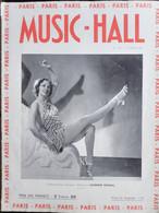 REVUE PARIS MUSIC HALL CURIOSA SEXY FEMMES SEINS NUS PIN UP MARS 1937 - 1900 - 1949