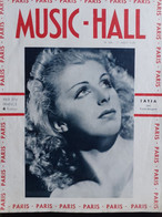 REVUE PARIS MUSIC HALL CURIOSA SEXY FEMMES SEINS NUS PIN UP AOUT 1937 - 1900 - 1949
