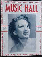 REVUE PARIS MUSIC HALL CURIOSA SEXY FEMMES SEINS NUS PIN UP JUILLET 1937 - 1900 - 1949