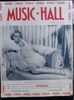 REVUE PARIS MUSIC HALL CURIOSA SEXY FEMMES SEINS NUS PIN UP JUIN 1937 - 1900 - 1949