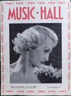 REVUE PARIS MUSIC HALL CURIOSA SEXY FEMMES SEINS NUS PIN UP MAI 1937 - 1900 - 1949