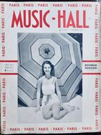 REVUE PARIS MUSIC HALL CURIOSA SEXY FEMMES SEINS NUS PIN UP OCTOBRE 1937 - 1900 - 1949