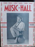 REVUE PARIS MUSIC HALL CURIOSA SEXY FEMMES SEINS NUS PIN UP SEPTEMBRE 1937 - 1900 - 1949