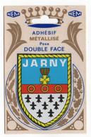 CP Adhesif 260, Blason Adhésif Double Face Métallisé NEM, 54 Jarny - Jarny