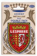 CP Adhesif 259, Blason Adhésif Double Face Métallisé NEM, 33 Lesparre - Lesparre Medoc