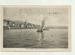 GENOVA PEGLI - PANORAMA DAL MARE  1946  - VIAGGIATA  FP - Genova (Genoa)