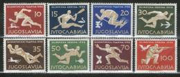YUGOSLAVIA 1956 Olympic Games - Melbourne, Australia MNH - Nuovi