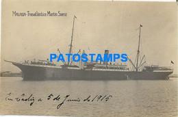 167804 SPAIN ESPAÑA MALAGA ANDALUCIA SHIP BARCO MARTIN SAENZ POSTAL POSTCARD - Non Classés