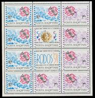 ALBANIEN Nr 2495KB-ndgz-2496KB-ndgz Postfrisch KLEINBG S03E2D6 - Albanië