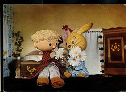 CP (Bonhommet Et Tilapin Aiment Les Fleurs) Obl. Festival CHIMAY  1969 - Werbestempel