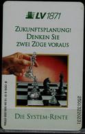 GERMANY  1994 PHONECARD CHESS USED VF!! - Giochi