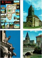 02 / AISNE / Lot 89 C.P.M. Neuves - 5 - 99 Cartoline