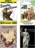 CARTES DE SALON / Lot 58 C.P.M. Neuves - 5 - 99 Cartoline