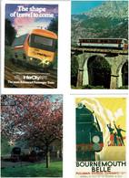 TRAINS / Lot 75 C.P.M. Neuves - 5 - 99 Cartoline