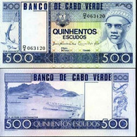 CAPE VERDE 500 ESCUDOS 1977 P 55 UNC - Cape Verde