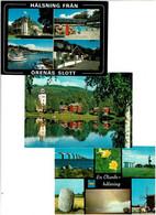 SUEDE / Lot 75 C.P.M. Neuves - 5 - 99 Cartoline