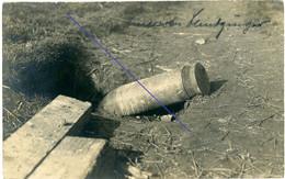 Allemande Carte Photo - Cambrai - Amerikanischer Blindgänger- (englische Tank Offensive ) - WWI 1.WK Guerre 14/15 - 1914-18