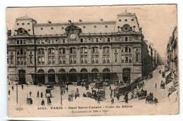 3TD 1O6 CPA - PARIS - GARE SAINT LAZARE - COUR DU HAVRE - Zonder Classificatie