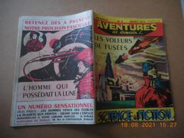 Aventures De Demain N°4 Année 1954 Be - Small Size