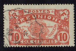 REUNION ( POSTE ) : Y&T  N°  86  TIMBRE  TRES  BIEN  OBLITERE . A  SAISIR . - Used Stamps