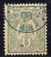 NOUVELLE-CALEDONIE ( POSTE ) : Y&T  N°  91  TIMBRE  TRES  BIEN  OBLITERE . A  SAISIR . - Usados