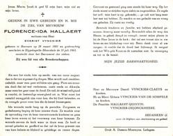 Florence Ida Hallaert (1881-1963) - Imágenes Religiosas