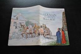 Louvain Capitale De La Bière Illustrations STEVEN WILSENS Editeur Brasseries Artois 1976 Stella Brasseur Histoire RARE - Altri