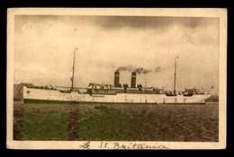 BATEAUX - PAQUEBOT - LE S.S. BRITANNIA FABRE LINE - Passagiersschepen