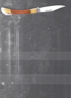 11980   COUTEAU  De Poche  Cran Darret  ACIER HORS TOUT 19CM - Altri