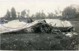 Allemande Carte Photo - 02 (Aisne) Abgeschossenes British Flugzeug   (3-3)- WWI 1.WK Guerre 14/18 - 1914-18