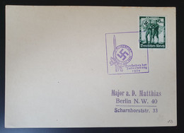 """Deutsches Reich 1938, Drucksache KLGENFURT """"Den Helden Der Julierhebung 1934"""" - Covers & Documents"""