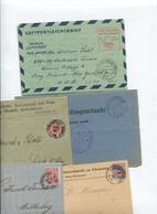 8610) 10 Belege Gesamtdeutschland - Affrancature Meccaniche Rosse (EMA)