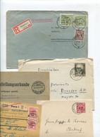 8368) 10 Belege Gesamtdeutschland - Affrancature Meccaniche Rosse (EMA)